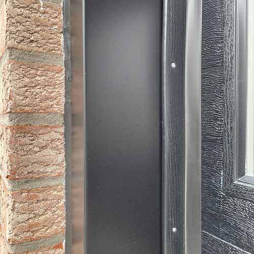 garage door aluminium capping
